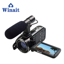 "Winait Free shipping Winait 1080P Full HD Digital Video Camera Camcorder 24MP 16x digital Zoom 3.0"" LCD Screen DV DVR(China)"