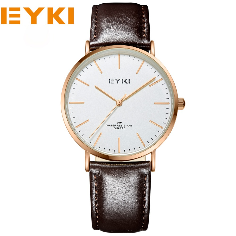 2017 NEW EYKI Brand Men Watches Business Sport Wristwatches Casual Quartz Watches For Women And Men Brand Dress Clocks<br><br>Aliexpress