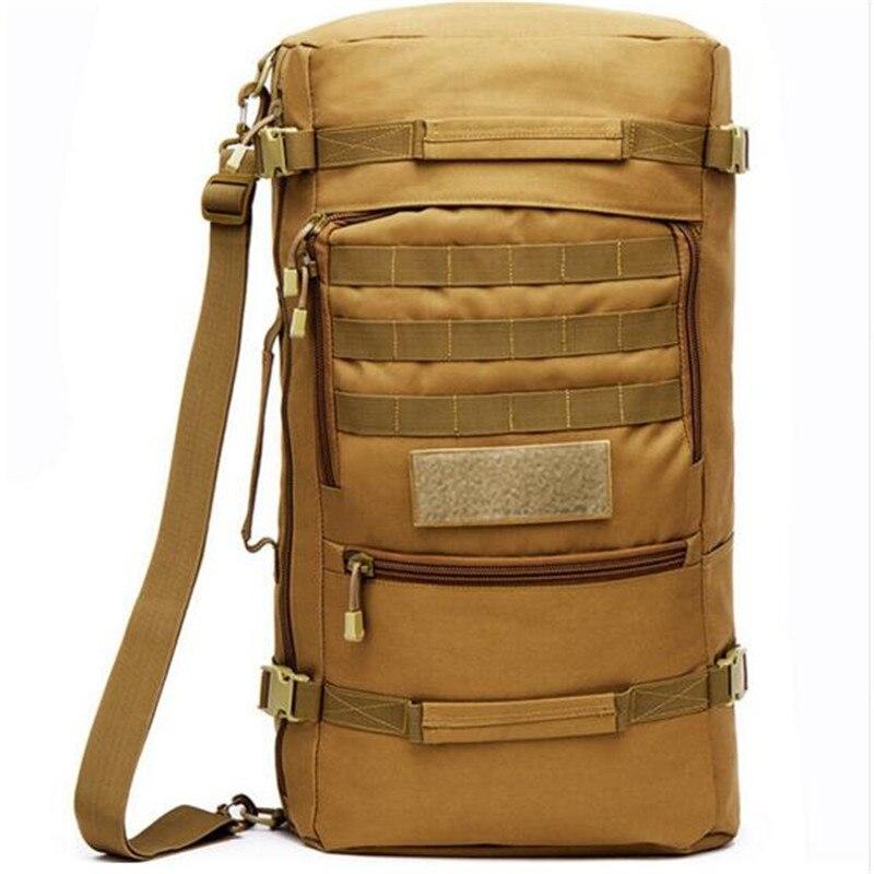 60 l waterproof nylon bag backpack backpack military 3 P strategy high grade against men women travel bag 17-inch flat-panel<br>