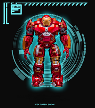 Avengers 2 Iron Man Hulkbuster Armor Joints Movable 18CM Mark With LED Light PVC Action Figure Collection Model Toy Action-028