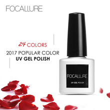 FOCALLURE Gel Varnish Paints Gel Varnish Primer Top Base Coat Gel Nail Polish Soak Off Fingernails Art Gel Lacquer(China)