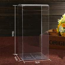 "20Pcs/Lot 9*9*18cm 3.54""x3.54""x7.08"" Essential Oil Bottle Party Pack Boxes Clear Plastic PVC Box For DIY Boutique Flower Crafts"