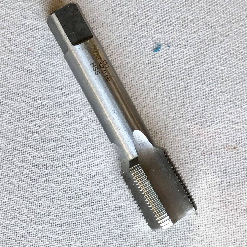 Free shipping of 1PC HSS 6542 made full CNC grinded thin kerf M32 Machine straight flute Tap Screw Taps for metal threading<br><br>Aliexpress