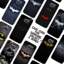 Hot Sale superhero batman Clear Case Cover Coque Shell for Samsung Galaxy S3 S4 S5 Mini S6 S7 Edge Plus