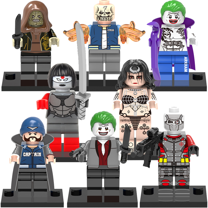 Single Sale Blocks toy Fallen Enchantress Clown Witch LEGOes Minifigures X0112 Super Heroes Suicide Squad model building Toys<br><br>Aliexpress