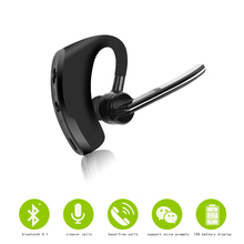 Business Wireless Bluetooth Mini Earphone Intelligent Headphones With MIC Sport Bass Headset For xiaomi huawei ihpone Smartphone