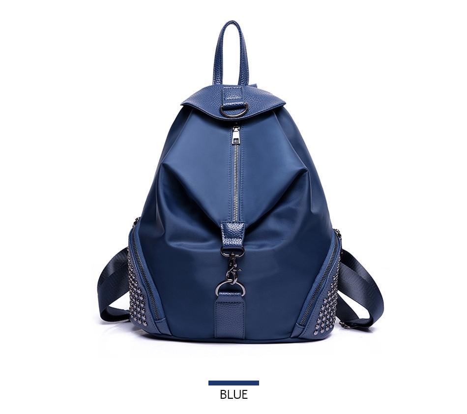 6a9da357f233 DIZHIGE Brand Nylon Backpack Women Vintage School Bags For Girls ...