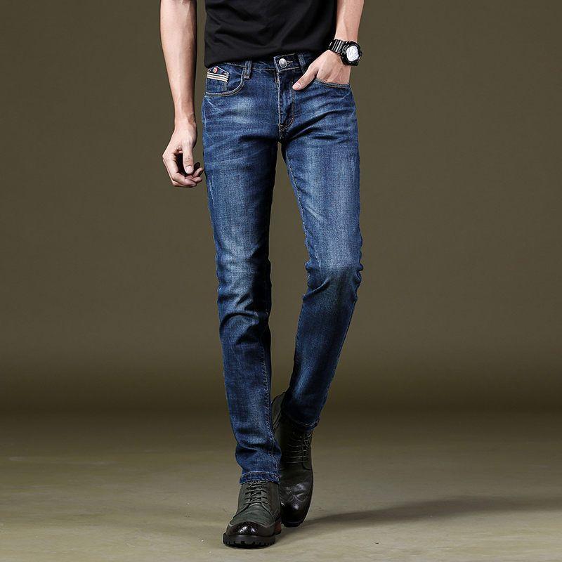 2018 new stretch jeans men