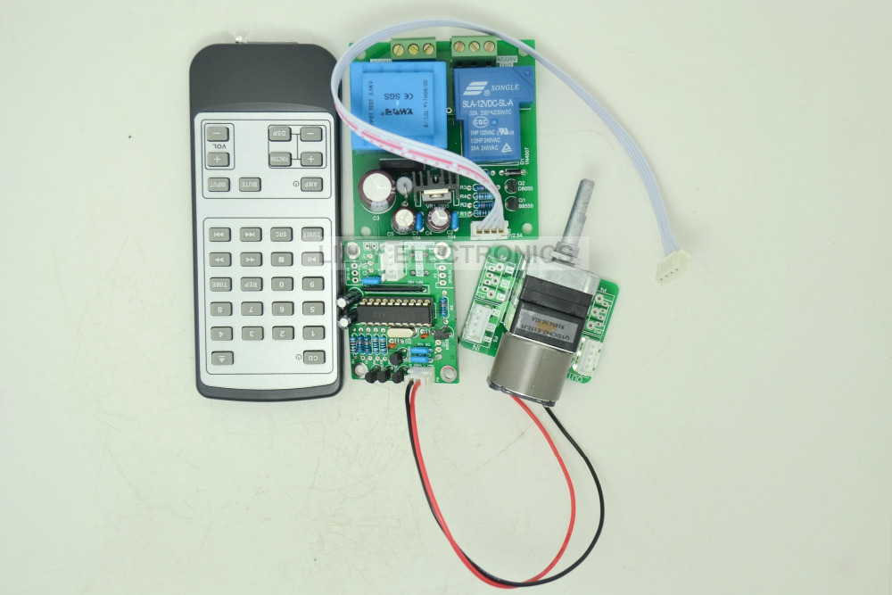 Wireless Control The Power On And Wireless   Control the Volume Board SZ<br>