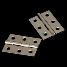 Promotion! 2pcs Stainless Steel 2 Inch 4.4x3.1cm Cabinet Door Hinges Hardware Best Selling(China)