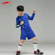 New Soccer Jerseys 2016 2017 Kids Football Training Jerseys Soccer Tracksuit Suit Maillot De Foot Kids Survetement Football Kits