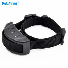Petrainer 853 Dog Training Collar Anti Bark Electric Shock for Pet Automatic Adjustable Trainer Necklace(China)