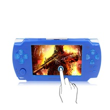 Portable Touch Handheld Game Players 8GB 4.3 inch mp4 player Video Game Console Free Games Ebook Camera Gaming Consoles(China)