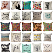 Geometric Flower Cushion Paisley Style Pillow Tree of Life Cushion for Sofa Car Decorative Pillows Living Room Home Art HH079