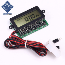 PCT601N Clock Timing Power On/Off Controller Module LCD Display For PC Server Automatic Boot Card Module