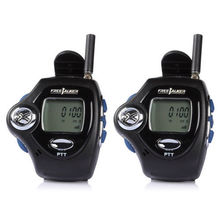4pcs Free Shipping Small Transceiver Wrist Watch Style Walkie Talkie UHF License Free Radio