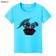 BGtomato Creative design cute cartoon T-shirts Original brand women clothes casual shirts wholesale tops tees cheap price
