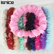 isnice 10pcs/lot 2016 Hair Clips For Women barrettes Gum For Hair Clip Double layer Hair tie Ornments