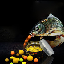 Vissen Smell Pop Ups Boilies Carp Fishing Bait 12mm 4 Flavors Floating Ball Beads Feeder Artificial Carp Baits Lure/ Hair Rig