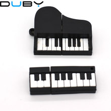 Cartoon Piano Shaped Usb 3.0 4GB 8GB 16GB 32GB USB Flash Drive Pendrive Flash Memory Stick Mini Gift Pen Drive Free shipping(China)