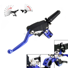 Buy Universal Motorcycle Forged Clutch Lever Perch Assembly Yamaha YZ WR Honda CR CRF Kawasaki KX Suzuki RM 80 85 125 250 DRZ400 for $49.60 in AliExpress store