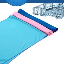 2pcs/lot 30*75cm Summer Quick-dry Sport Towel  Instant Magic Ice Cooling Towel Enduring Running Jogging Gym Chilly PadTowels