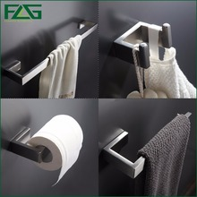 304 Stainless Steel Nickel Brushed Wall Mount Bath Hardware Sets,Towel Bar,Robe hook,Paper Holder,4pcs/set,Free Shipping SS01-4