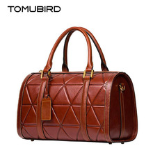 TOMUBIRD 2017 New women genuine leather bag fashion latticeem bossing leather art bag women real leather handbags shoulder  bag