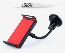 2017 Universal Silicone Sucker monopod car phone holder stand support for iphone 6 5s 4s xiaomi redmi note 2 huawei p8 lite