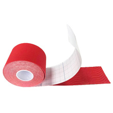5cm x 5m Sports Kinesiology Tape Kinesio Roll Cotton Elastic Adhesive Muscle Bandage Strain Injury Support(China)
