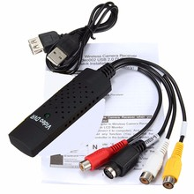 1 Set Portable USB 2.0 Easycap Audio Video Capture Card VHS Adapter to DVD Video Capture For Win7 / 8 / XP / Vista(China)
