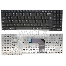 US laptop Keyboard FOR Clevo para DNS ECS MB50 MP-09R16US-3603 MB50II MB50IA MB50IA1