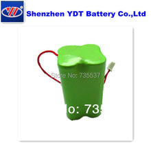 ni mh  Rechargeable AA 2000MAH 4.8V Battery Pack   freeshipping