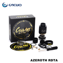 Original CoilART Rebuildable Dripping Tank Coil Art Azeroth RDTA Tank 4ml Capacity with Adjustable Airflow Aromamizer rdta