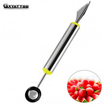 Multifunctional Fruit Vegetable Tools Carving Cutter Ice Cream Melon Dig Ball Scoop Kitchen Accessories Cold Dishes Cooking Tool(China)