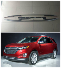 For Chevrolet EQUINOX 2017.2018 Roof Racks Car Luggage Rack High Quality Aluminium Alloy Screw Fixing Auto Accessorie