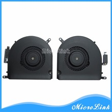 "Cooling Fan For Macbook Pro  Retina 15"" A1398 CPU Cooler Fan Right & Left side 923-0091 923-0092 2012 2013"