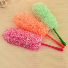 Ultrafine Fiber Household Cleaning Car Dust Duster Soft Feather Brush Cleaning Dust Handle Feather Static(China)