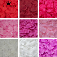 2000 pcs/lots Wedding Rose Petals Silk Rose Flower Petals Leaves Wedding Supplies Favor Party Decoration  RP3