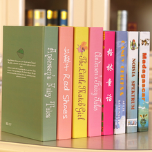 10PC Book New children's   props simulation Fake  bookcase decor  furniture   book decoration wall dies wedding