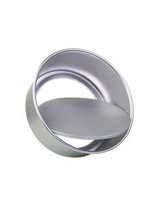 Cake-Moulds Baking-Dish Cake-Decoration Round Aluminum-Alloy 1pc with Removable Bottom-Anode-Surface