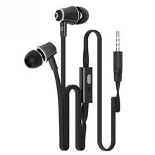 3.5mm Earphones Headphones With Mic For IPhone 5S 6 Plus for Samsung LG for Huawei MP3 MP4 MP5 High Quality Best Bass