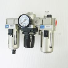 Industrial Air Filter Moisture Water Trap Pneumatic Tools Oil Lubricator AC3000-03(China)