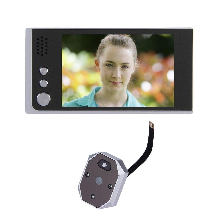 Video eye peephole 2017 New 3.5inch LCD IR Night vision 2.0Megapixels camera Taking+Viewing Photos video eye videoglazok camera<br><br>Aliexpress