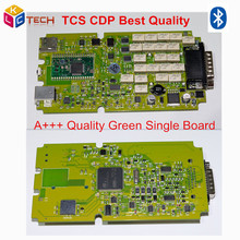High Quality TCS CDP PRO NEW VCI With bluetooth + single board green software 2014R2/2015.R3 All With Keygen CDP