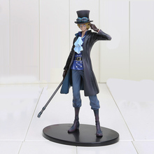 18cm One Piece DXF Sabo Anime Collectible Action Figures PVC Collection toys for christmas gift(China)