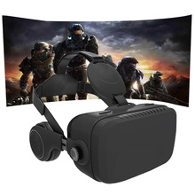 VR All In One Headset VR 3D Glasses Virtual Reality 2K HDMI 2.0 Android 5.1 Quad -Core +Earphone Wireless Immersive 3D Glasses