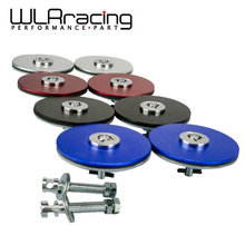 WLRING STORE- Racing Engine Bonnet Flush Plus With Key Hood Pin Latch Kit WLR-HPL41(China)