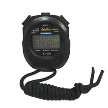 Waterproof Handheld Stopwatch Digital Sport Timer Professional Watch Countdown Timer Alarm Clock with Strap Cooking Timer(China)
