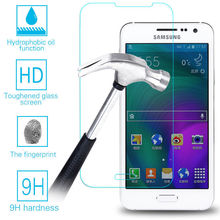 0.3mm Tempered Glass For Samsung Galaxy A3 A5 A7 A310F A510F A710F A7100 J1 J3 J5 J7 2016 2017 Screen Protector Film Phone Case(China)